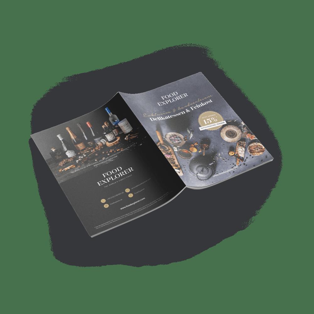 DIN A5 Brochure 12-seitig